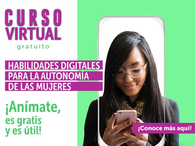 SLIDER - Curso virtual - Habilidades Digitales